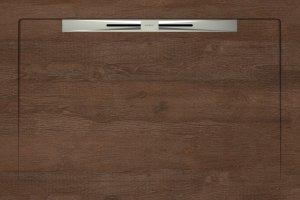 Душевые поддоны OAKWOOD RED BROWN - SLOPE NOVA LINE 80X120