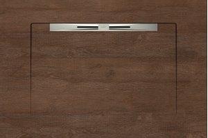 Душевые поддоны OAKWOOD RED BROWN - SLOPE NOVA LINE 90x135