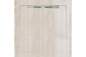 Душевые поддоны COSMO WHITE - SLOPE LINE 90X90