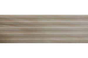 Настенная плитка Camelia 511 CAPPUCINO STRIP DECOR SERRA для ванной глазурованная коричневый 90x30
