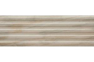 Настенная плитка Hill 529 BEIGE DECOR SERRA для ванной глазурованная бежевый 90x30