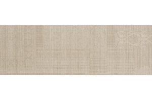 Настенная плитка Victorian 581 VIZON RUG DECOR SERRA для ванной матовая светло-коричневая 90x30