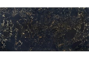 CRUSHED MARBLE 60х120 BLACK RECTIFIED FULL LAPPATO (Крашд Марбл 60х120 Черный рект.фулл лаппато) SERANIT для ванной  black