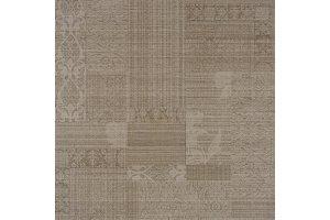 Напольная плитка Victorian 581 BROWN RUG DECOR Напольная SERRA для ванной матовая коричневый 60x60