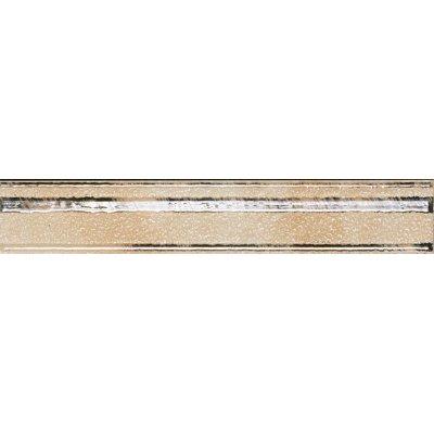 Настенная плитка Cadoro RAMAGE BORDER PEARL WHITE SERRA глазурованная белый