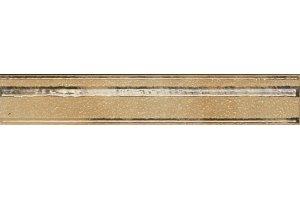 Настенная плитка Cadoro RAMAGE BORDER GOLD SERRA глазурованная золотой 30x5