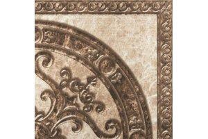 Напольная плитка Emprador CORNER DECOR BEIGE & BROWN Напольная SERRA для ванной глазурованная коричневый 60x60